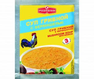 PODRAVKA_суп Грибной с вермишелью 40г_Упаковка