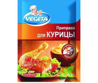 VEGETA_приправа для курицы 20г_Упаковка