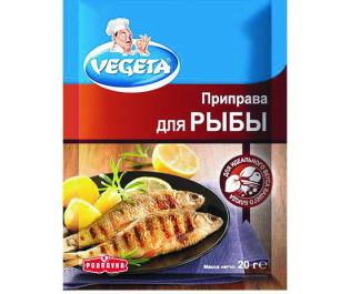 VEGETA_приправа для рыбы 20г_Упаковка