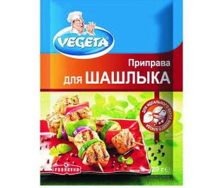 VEGETA_приправа для шашлыка 20г_Упаковка