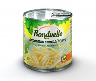 3083680016780 Пророщенi ростки сої Мунго Bonduelle, жб, 400 г