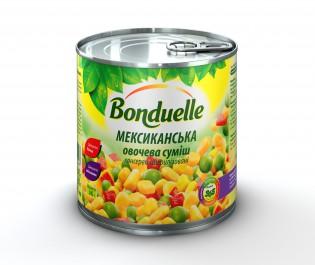 3083680715447 Овочева сумiшсалат Кукурудза по-МексиканськиBonduelle, жб, 340 г
