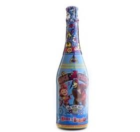 Детское шампанское Маша и медведь_синее_0.75 сб_222