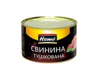 Свинина тушкована НАМЕ2, жб, 400 г